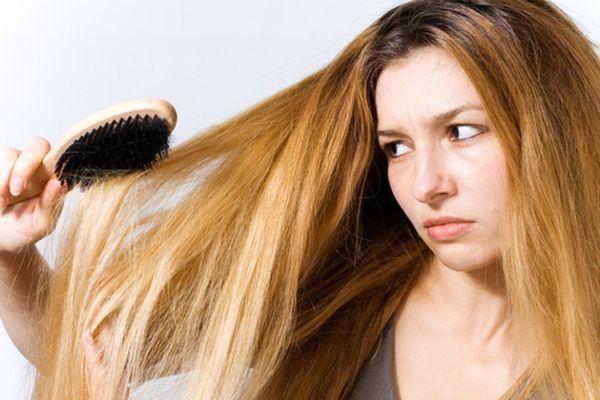saç kırıklığı
